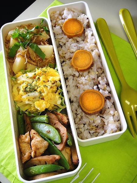 味噌風味野菜炒雞肉