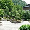 三室戶寺- 枯山水石庭