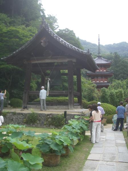 三室戶寺- 鐘樓&三重塔