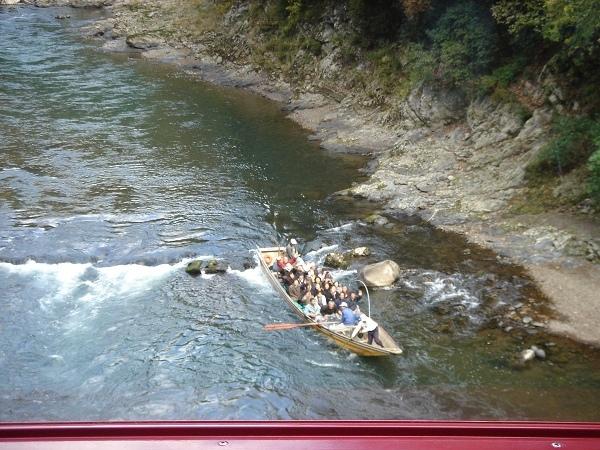 嵐山小火車---望 保津川泛舟