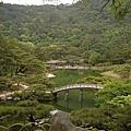 栗林公園---飛來峰