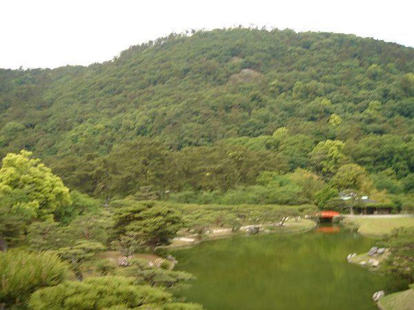 栗林公園---芙蓉峰
