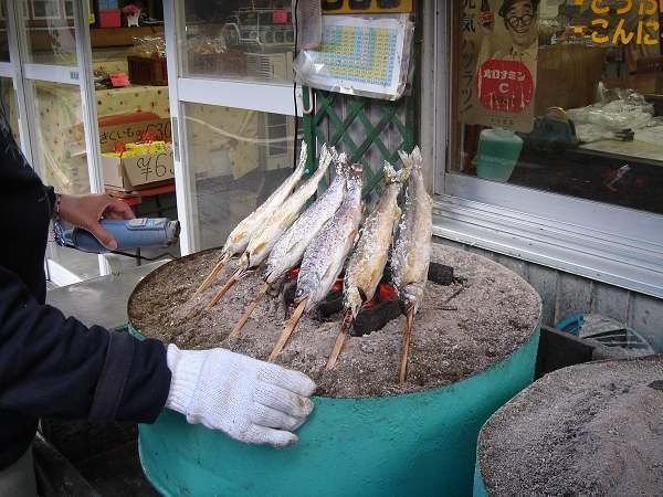 烤魚...