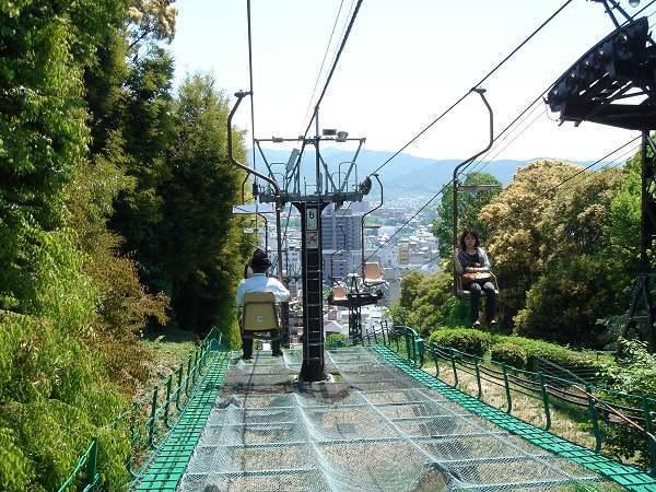 松山城---吊椅
