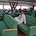 小豆島ferry客艙