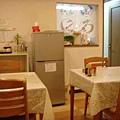 小而整潔的餐廳
