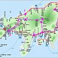 小豆島行程路線圖