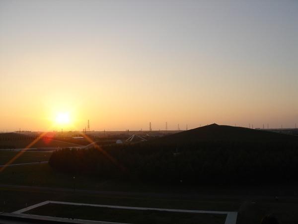 モエレ沼公園---日落