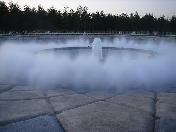 モエレ沼公園---海の噴水