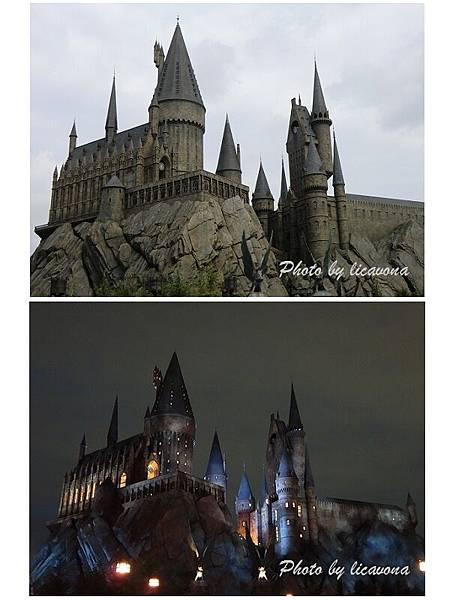 城堡日夜不同風情