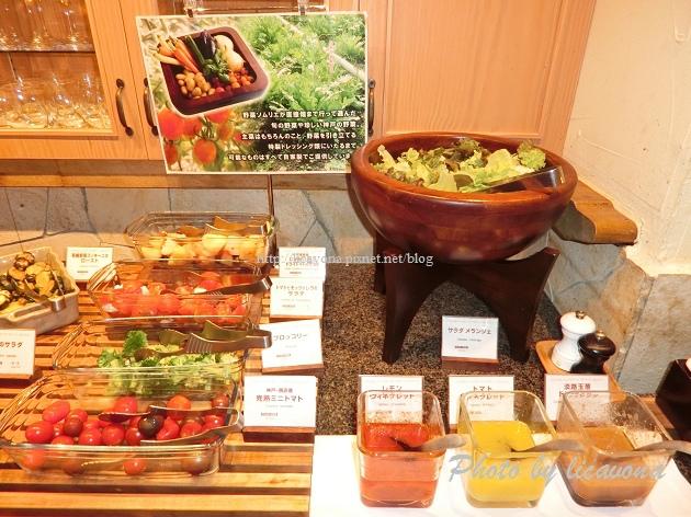 Piena朝食-野菜沙拉