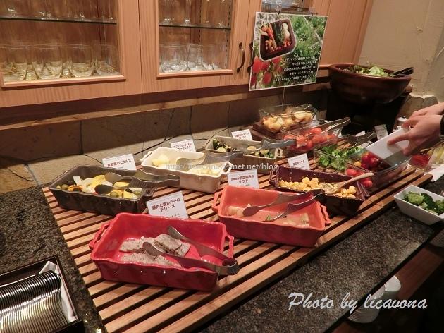 Piena朝食-北海道帆立貝柱沙拉