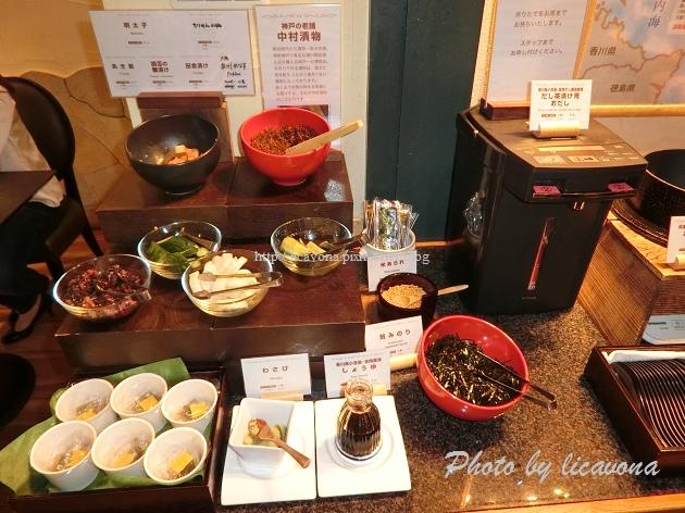 Piena朝食-中村漬物