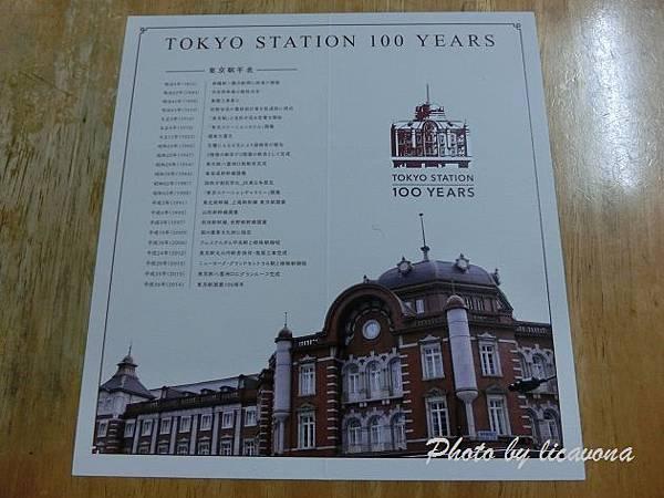 東京車站百年紀念suica