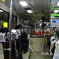 立山tunnel troley bus
