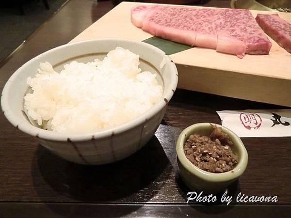 白飯+牛肉佃煮