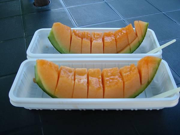 富田農場-哈密瓜2片450