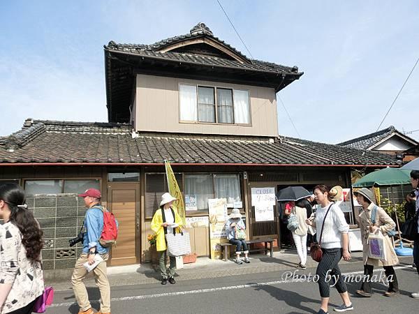 富田車站對面土產店可寄放行李