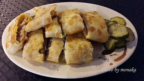 老江紅茶牛奶-鮪魚蛋餅