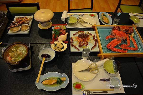 北海道Day10-8_羅臼の宿 まるみ晚餐