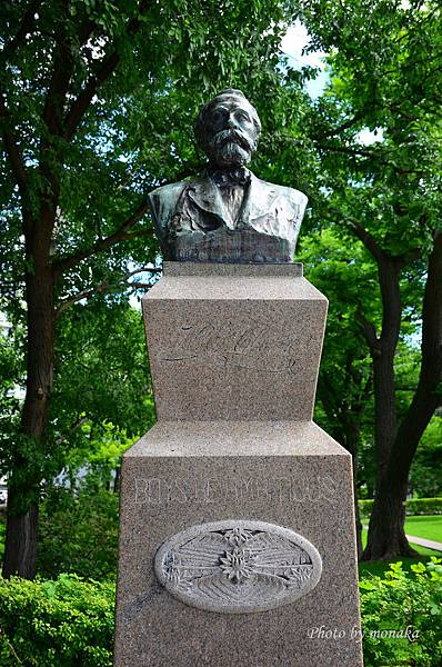 北海道大學--克拉克博士紀念銅像