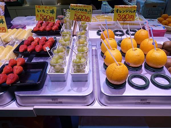 近江町市場_草莓-麝香葡萄