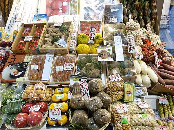 近江町市場_野菜