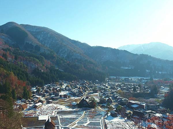 白川鄉合掌村-展望台