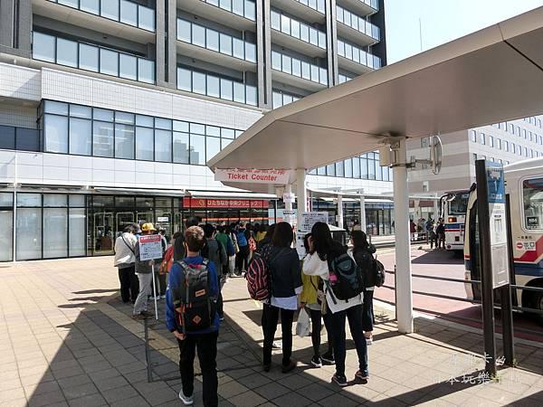 勝田車站東口搭乘巴士
