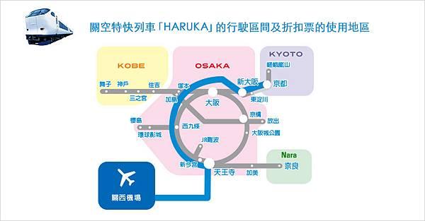 ICOCA and HARUKA優惠票區間.jpg