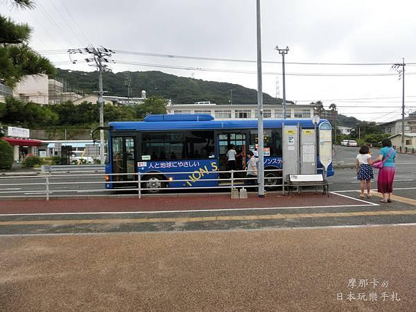 御裳川~唐戶的巴士