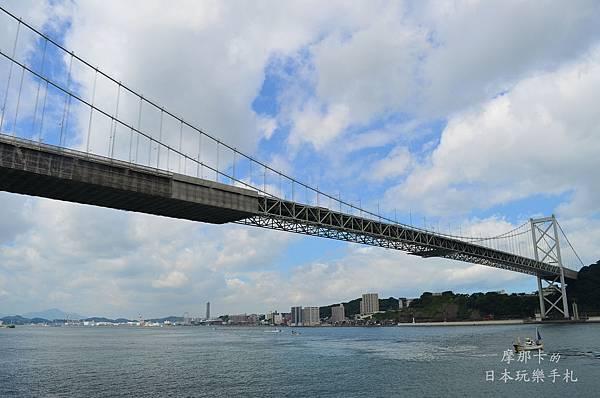 關門海峽與關門大橋
