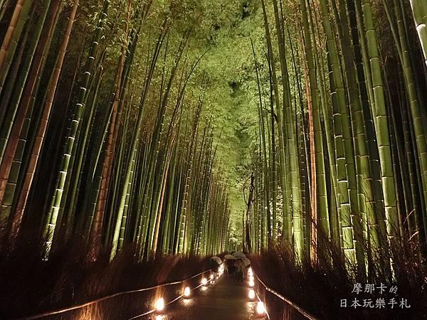 京都_嵐山花燈路