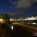 京都弘燒肉--鴨川納涼床夜景