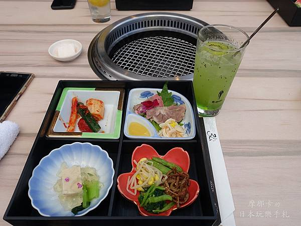 京都弘燒肉--前菜%22床便當%22