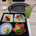 京都弘燒肉--床便當(前菜)