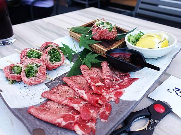 京都弘燒肉--燒肉拼盤