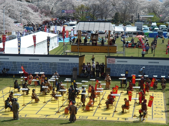 天童舞鶴山公園-人間將棋