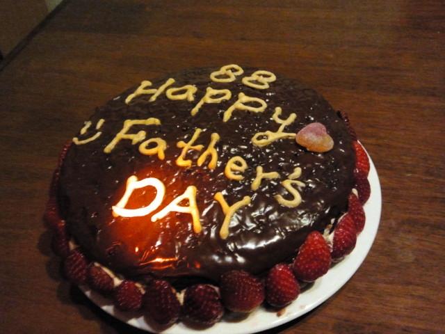 Brisbane 父親節蛋糕