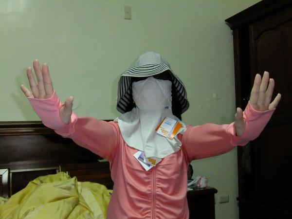 UV100全套防曬衣
