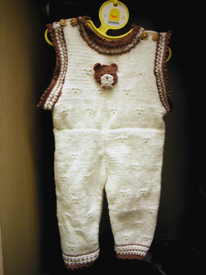 第一件手織毛衣
