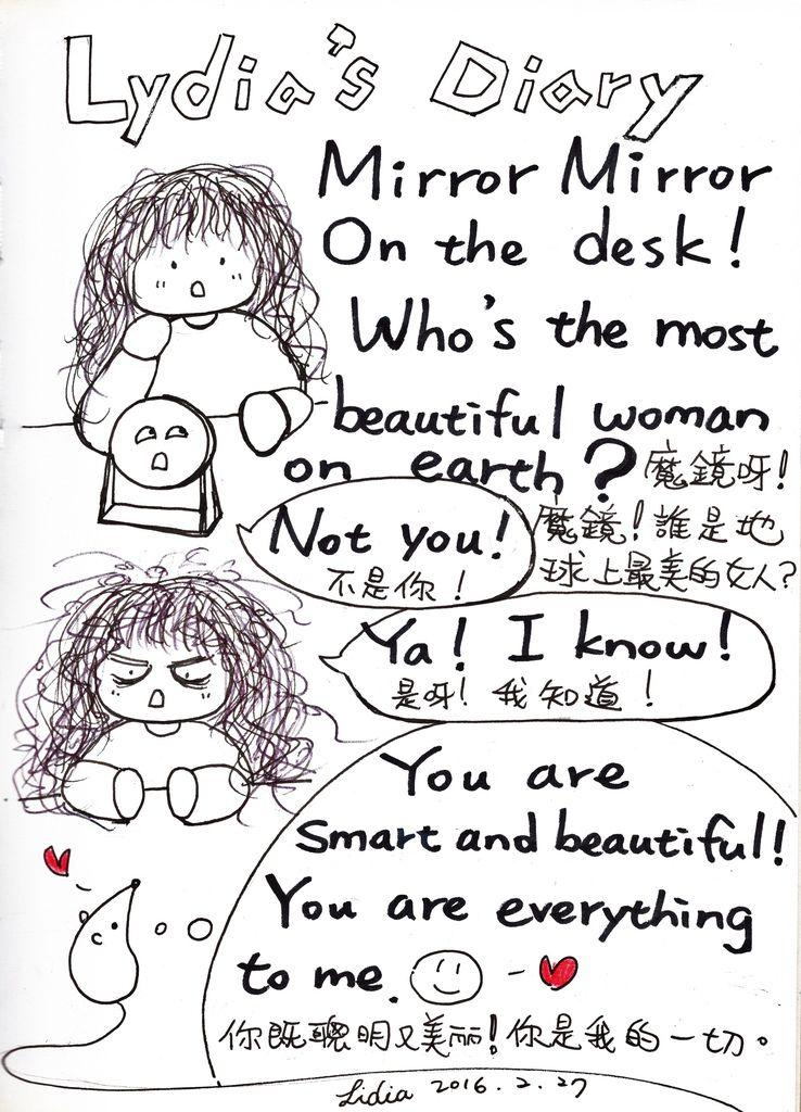 Mirror Mirror On the desk!