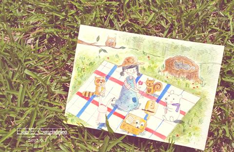 #13森林野餐(手繪)