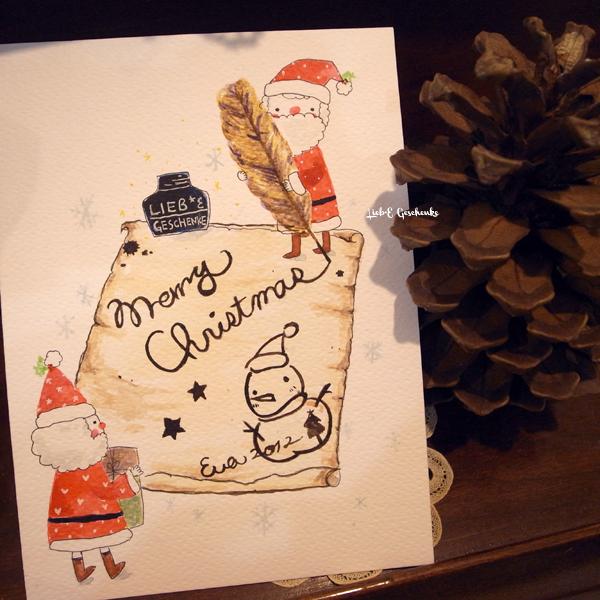 #16耶誕老人寫信籤(正面)