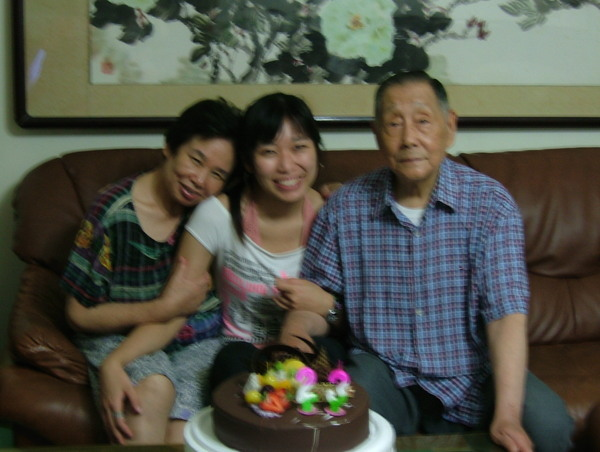 me and grandparents 我和爺奶