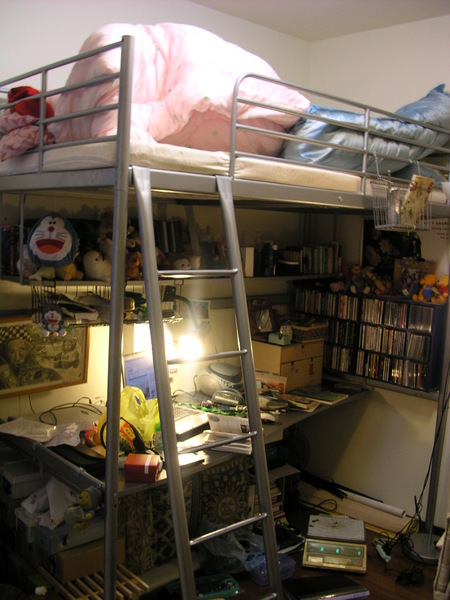 my room 我的房間