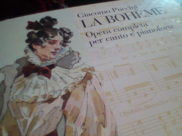 La Boheme 波希米亞人的譜