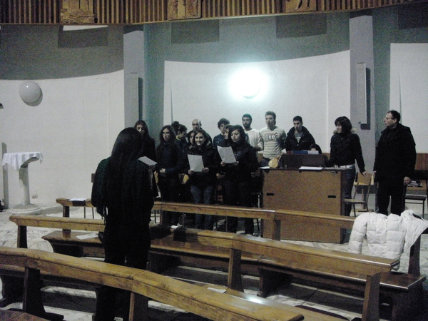 Oppido~church chorus 教堂詩班