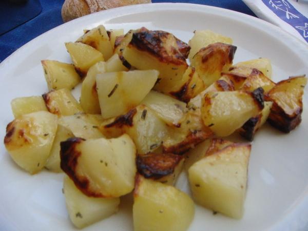 oven potatos 爐烤馬鈴薯