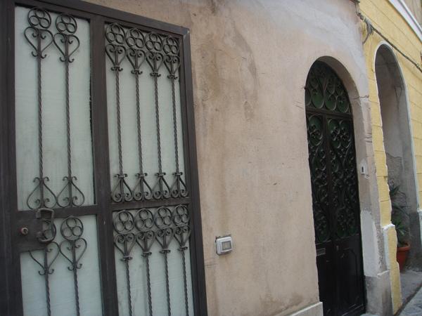 Giusi's 的門口